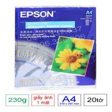 Giấy in ảnh 1 mặt Epson , định lượng 230g A4
